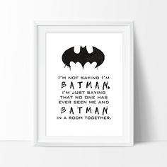 Baby boy train personalised kids birth cushion baby birthday this funky monochrome im not saying im batman wall art print will make the perfect wall art for your nursery or man cave negle Gallery