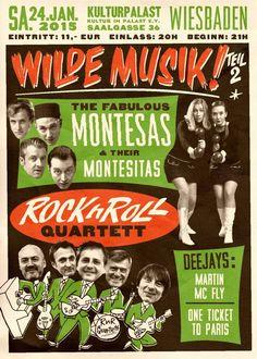 Montesas + RockNRoll Quartett