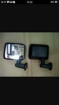 jual spion rubicon -utk mobil jimny katana -bahan fiber, harga sepasang kiri kanan, wa 82210151782