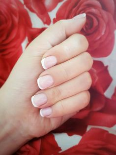 Only classic french with shellac Shellac, French, Nails, Classic, Beauty, Finger Nails, Derby, French People, Ongles