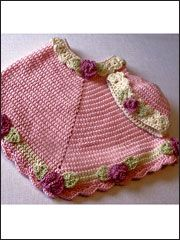 pretty posies poncho and cap - pattern download for $5.95