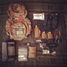I live in Austin, Tx and do a lot of photography around the city and on hiking trails at all hours of the day and like to be prepared for any situation.