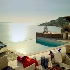 Cycladic Luxury Beach Resort Heaven On Mykonos Island.