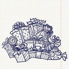 Результат поиска Google для http://us.123rf.com/400wm/400/400/gollli/gollli1012/gollli101200001/8377811-cute-doodle-engfaved-christmas-gifts.jpg