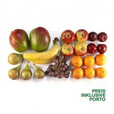BIO BOX Abo Früchte MIDI Immer am MITTWOCH per Post geliefert: Jede Woche erntefrische, knackige Biofrüchte für Sie zusammengestellt. Post, Fruit, Organic Vegetables, Wednesday, Harvest, Fresh