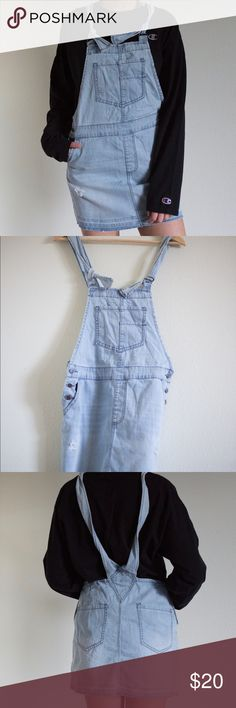 Forever 21 Denim Overall Skirt Cute overalls! Size Small. Worn once. Forever 21 Dresses