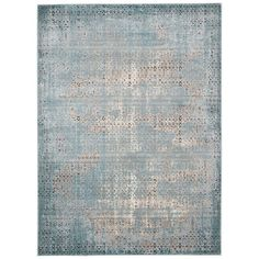Enliven your home decor with the  Lakewood blue rug. This beautiful rug is sure to make any room feel new with its unique style.