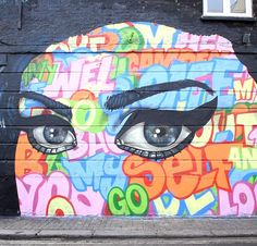 This mural is part of a new street art trail in #Camden celebrating the iconic and inspirational #AmyWinehouse. Work by @captainkris @amarapordios for the @jewishmuseumldn in collaboration with @globalstreetart ! The street art trail will run from Thursday 16th March - Sunday 4th June Funds raised by @artfunduk #globalstreetart #amywinehouse #jewishmuseum #graffiti #streetart #camdenstreetart #streetarttrail #londonstreetart #camden #loveisalosinggame #internationalwomensday