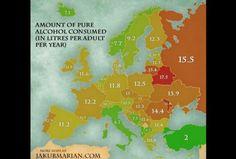 Unos alkohola u Evropi (Foto: Facebook printscreen)