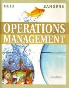 REID, Robert Dan; SANDERS, Nada R.. Operations management: an integrated approach. 4 ed. Hoboken: John Wiley & Sons, 2010. xxviii, 671 p. Inclui bibliografia (ao final de cada capítulo) e índice; il. color. tab. quad.; 26x21x2,5cm. ISBN 0470325046.  Palavras-chave: ENGENHARIA DE PRODUCAO; ESTUDOS DE NEGOCIOS.  CDU 658.5 / R357o / 4 ed. / 2010