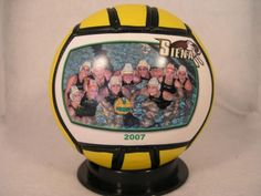"""Your Photo Water Polo 6"""" Size. Great For Game Balls, Gifts, Coaches, Players, Fans, Awards, Contests, Graduations, Seniors, Leagues, High School, College, Varsity, Holidays, Parents, Trophies, Clubs. Print Pictures, Individuals, Teams, Logos."", 2015 Amazon Top Rated Water Polo #Sports"