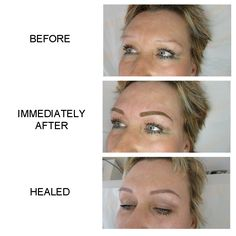Permanent make up. Brows.