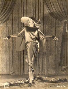 "Fashion designer Travis Banton's  ""Dressmaker from Paris"" (1925).  Seen here is Dorothy Seastrom."