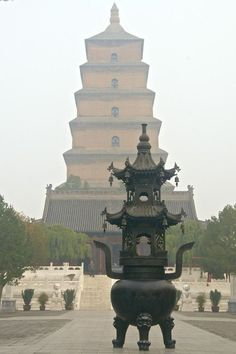 Wild Goose Pagoda Xi'an, China