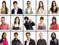 1. Navjot Singh Siddhu   2. Sana Khan (modelturned-South films actor  3. Brijesh Hirji   4. Sampat Pal   5. Urvashi Dholakia (popular for negative roles on TV)  6. Aashka Goradia (TV actor)  7. Dinesh Yadav   8. Sapna Bhavnani (celebrity hair stylist)  9. Delnaz Paul (TV actress)  10. Rajeev Paul (TV actor and Delnaz's ex-husband)  11. Aseem Trivedi (political cartoonist and activist)  12. Sayantani Ghosh (actor)  13. Model Niketan Madhok  14. Model Karishma Kotak