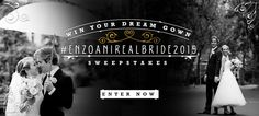 #EnzoaniRealBride2015 Contest! ENTER NOW to WIN a FREE dream gown & VIP trip to Los Angeles this June! http://bit.ly/1wsD4Y5