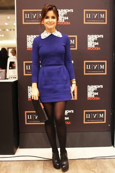 Miroslava Duma- Can we please address how darn cute she is?! Def my fashion guru. Love everything she wears. Period.