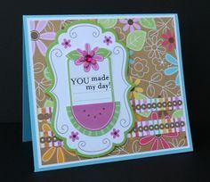 You made my Day! - Scrapbook.com - #scrapbooking #cardmaking #doodlebugdesigns