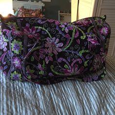 Large Vera Bradley duffle bag Large duffel bag, great condition! Vera Bradley Bags
