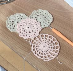 재밌어요~모티브뜨기♡소소한행복 다이소 면뜨개실(도안첨부) : 네이버 블로그 Crochet Stitches, Crocheting, Crochet Earrings, Knitting, Crochet, Tricot, Chrochet, Cast On Knitting, Stricken
