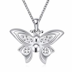 hot brand new fashion popular 3D Butterfly necklace jewelry 2016 wholesale chic fancy classic luxury gift promotion bulk
