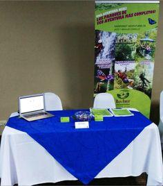 En feria de Asociaciones Solidaristas. Rainforest Adventures Costa Rica; los parques temáticos más sostenibles le ofrecen selectos paquetes corporativos. Escríbanos a: corporativo.cr@rainforestadventure.com