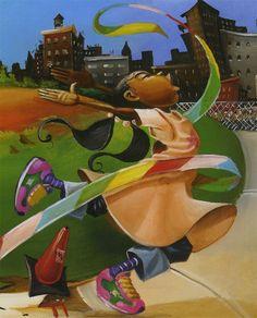Frank Morrison   African American painter   The Urban Jazz