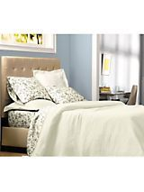 Lattice Matelasse Bedspread & Coverlet Collection | linensource