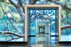 A Look Behind ESI Design's Interactive Media Wall at Terrell Place - Chiropractic Therapy Interactive Walls, Interactive Media, Interactive Installation, Installation Art, Digital Signage, Digital Wall, Digital Media, Media Wall, Video Wall