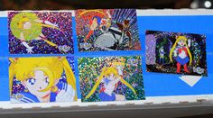 Sailor Moon Prismatic Trading Cards prism Collectible Card Lot vintage American