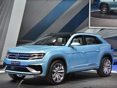 Volkswagen has introduced their long-awaited new plug-in hybrid, the Cross Coupe GTE Concept.