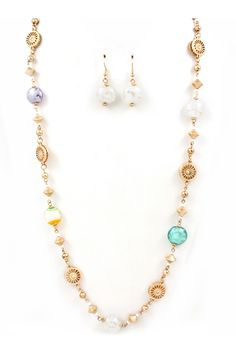 Murano Glass Collin Necklace on Emma Stine Limited