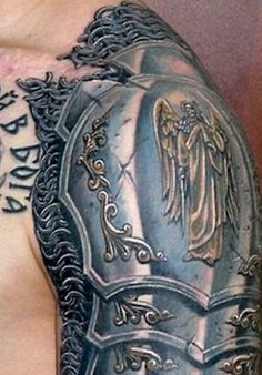 shoulder armour tattoo - Google Search