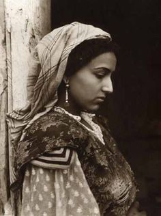 vintage north African woman