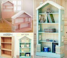 turn a dresser into a dollhouse - Google Search