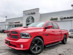 2015 Ram 1500 Sport 4x4 Nav RamBox Tonneau Cover Side-Steps Air   used cars & trucks   City of Toronto   Kijiji