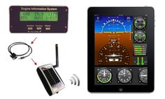 Adaptor turns an iPad into a full aircraft instrument cluster