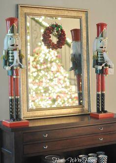 Christmas Decor  Home Tour // Honey We're Home