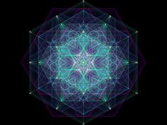 Celestial Rose 3D Holographic Mandala ~ YOU are a fractalized, fragmented expression of them in earthly physicality. YOU are them, and they are US.