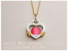 Sailor Pluto Garnet Orb Talisman Sailor Moon by StarlightDecoDream - Pluto is my favorite! All of her Sailor Moon inspired items look amazing.