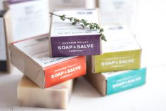 Chagrin Valley Soap & Salve Packaging | AIGA Cleveland - Design 730 Competition