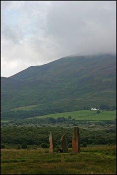 Machrie Standing Stones, Arran Island, Scotland