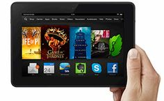 "Kindle Fire HDX 7"" Tablet"