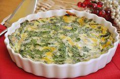 Living Lou: Crustless Spinach Quiche