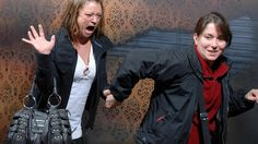 Nightmares Fear Factory: Terrified Reactions at Haunted House. Seriously, click on the link This is HILARIOUS!! :)