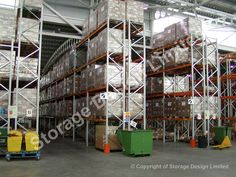 Large pallet racking installation in Baglan, South Wales, nr Swansea installed by Storage Design Limited Storage Design, Shelving, Projects, Home Decor, Homemade Home Decor, Shelves, Warehouse Design, Shelf, Open Shelving
