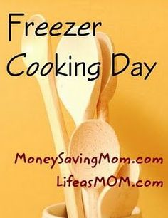 A lot of freezer meals and ideas of putting stuff in a kit instead of a full…