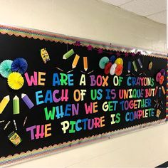 Excellent DIY Classroom Decoration Ideas & Themes to Inspire You - Spectacular classroom decor ideas elementary // motivational board - Preschool Classroom Decor, Diy Classroom Decorations, School Decorations, Classroom Displays, Classroom Themes, Preschool Quotes, Classroom Pictures, School Board Decoration, Kindergarten Teachers