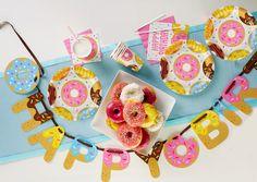 Ideas for your Doughnut Party!