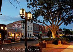 Evening on Centre Street, Fernandina Beach Florida Travel, Florida Beaches, Fernandina Beach Florida, Amelia Island Florida, Road Trip Adventure, Beautiful Sites, Secret Places, Island Life, Walking Tour